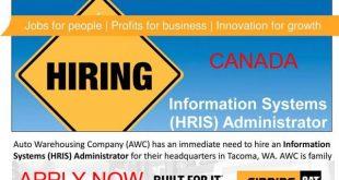 HRIS Administrator CANADA