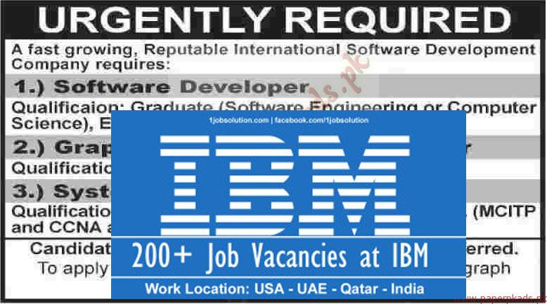 IBM Software development engineer