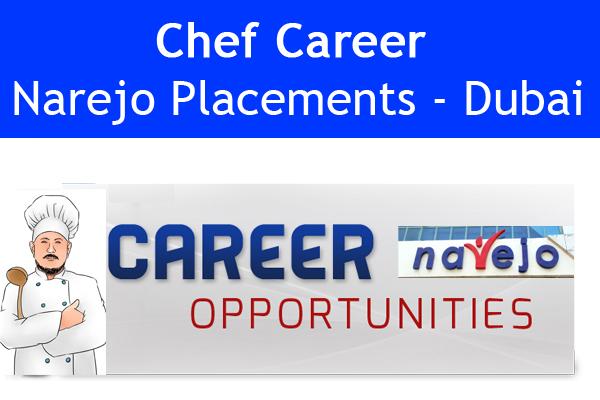 Chef Career Narejo Placements - Dubai