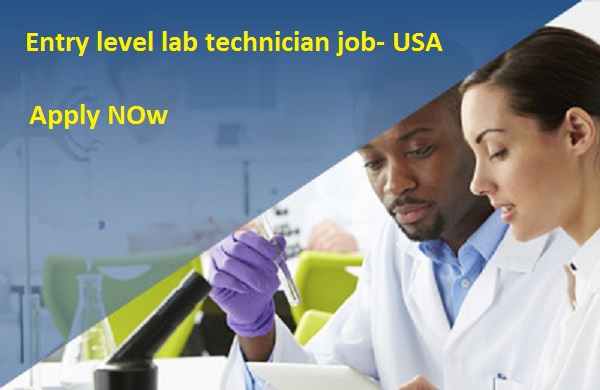 Entry Level Lab Technician Jobs  Chemistry United States