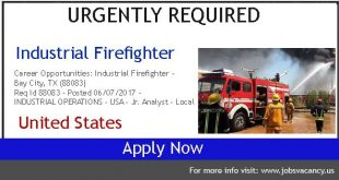 Industrial firefighter