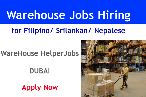 warehouse jobs hiring
