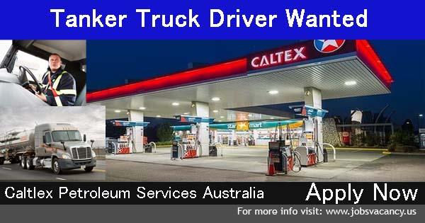 Tanker Truck Driving Jobs