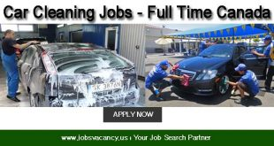 Car Cleaning Jobs