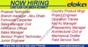 Construction Recruitment at Doka