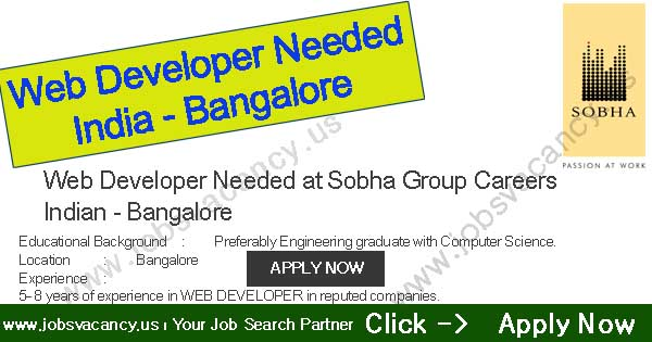 Web Developer Needed