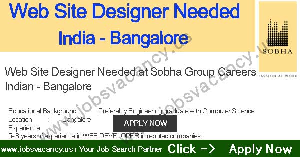 Website design jobs