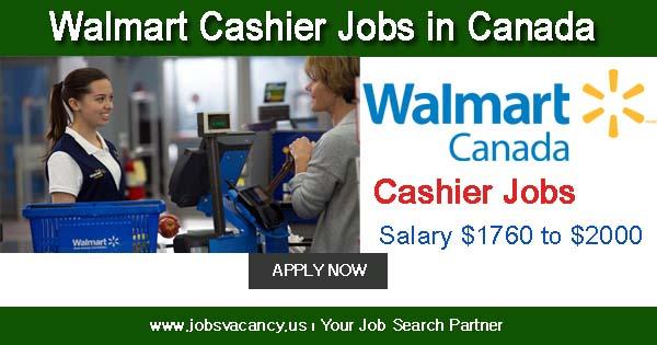 Walmart Cashier Jobs