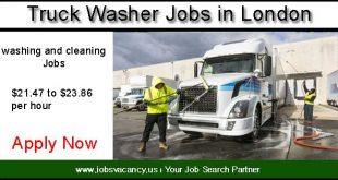 Truck wash jobs london