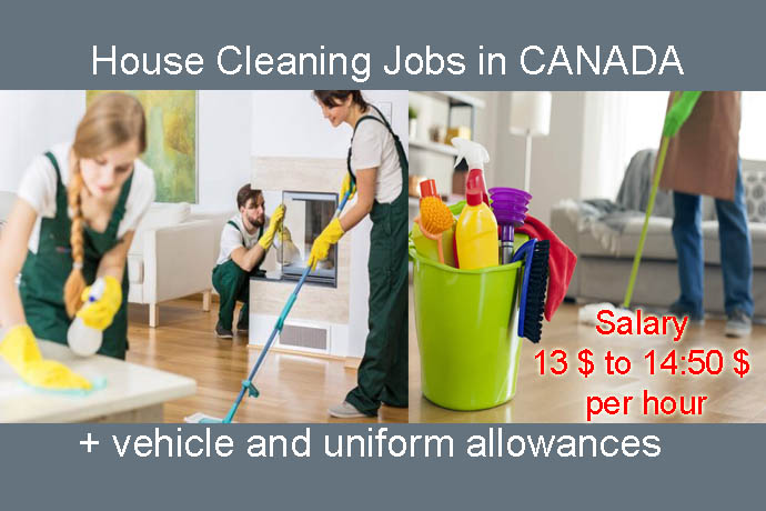 cleaners wanted    house cleaning jobs    housekeeping jobs