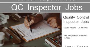 Quality Control Jobs in Saudi Arabia