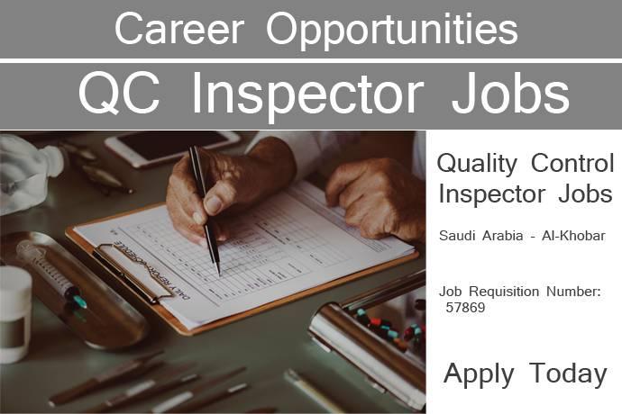 Quality Control Jobs in Saudi Arabia